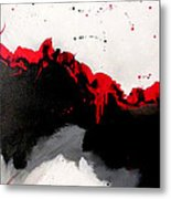 Night On The Town Left Metal Print