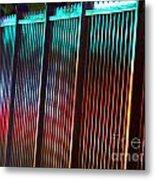 Night Reflections Metal Print