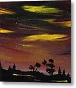 Night Scene Metal Print