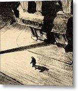 Night Shadows Metal Print by Edward Hopper