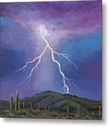 Night Strike Metal Print