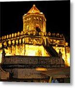 Night Temple Metal Print