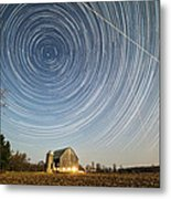 Night Vision Metal Print by Matt Molloy