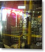 Nightbus Iv Metal Print