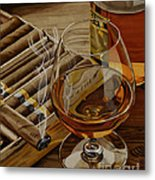 Nightcap Metal Print by Cory Still