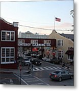 Nightfall Over Monterey Cannery Row California 5d25146 Metal Print