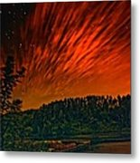 Nightfire Metal Print