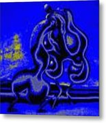 Nightly Longing Metal Print