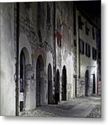 Nightscape. Iseo Metal Print
