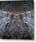 Nighttime Water Tumble Metal Print