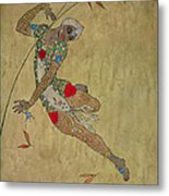 Nijinsky In 'le Festin/ L'oiseau D'or' Metal Print