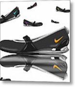Nike Metal Print by Veronica Minozzi