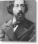 Nikolai Chernyshevsky (1828-1889) Metal Print