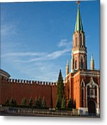 Nikolskaya - St. Nicholas - Tower Of The Kremlin Metal Print