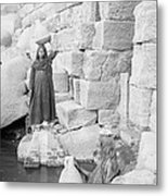 Nilometer On Elephantine Island, Egypt Metal Print