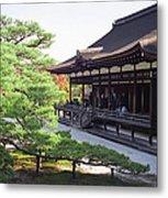 Ninna-ji Temple Garden - Kyoto Japan Metal Print