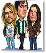 Nirvana Metal Print by Art