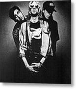 Nirvana Band Metal Print