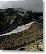 Nisqually Glacier Metal Print