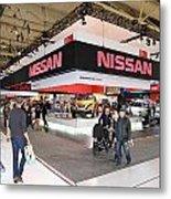 Nissan Area Metal Print