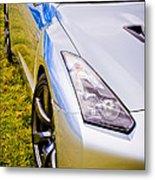 Nissan Gtr 2 Metal Print by Phil 'motography' Clark