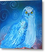 Nite Owl Metal Print by Amy Reisland-Speer