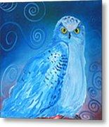 Nite Owl Metal Print by Amy Reisland-Speer