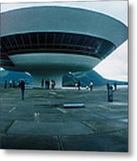 Niteroi Contemporary Art Museum Metal Print