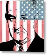 Lyndon Johnson Metal Print