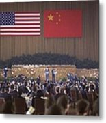 Nixon In China. Overview Of The State Metal Print