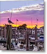 Nj's Sunset Metal Print