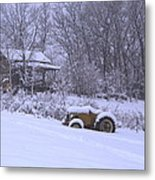 No Chores Today Metal Print