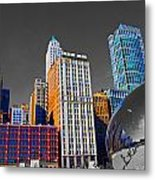 No Color Bean Metal Print