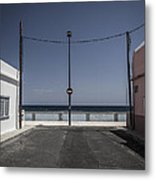 No Entry To The Sea Metal Print