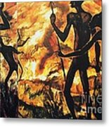 No Fire For The Antelopes Metal Print