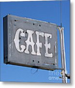 No Food Here Metal Print by Art Block Collections
