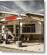 No Gas Metal Print
