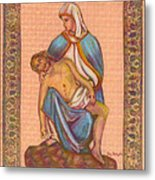 No Greater Love - Jesus And Mary  Metal Print