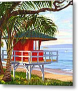 No Guard On Duty - Kamaole Beach Metal Print