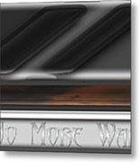 No More War Metal Print
