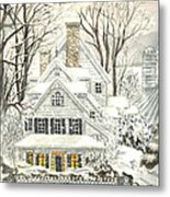 No Place Like Home For The Holidays Metal Print
