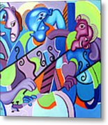 No Strings Attached Metal Print by Anthony Falbo