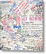 No To War 9/11 Metal Print