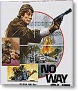No Way Out, Aka Big Guns - Tony Metal Print