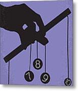 No009 My Being John Malkovich Minimal Movie Poster Metal Print by Chungkong Art