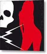 No018 My Death Proof Minimal Movie Poster Metal Print