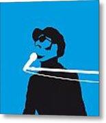 No039 My Stevie Wonder Minimal Music Poster Metal Print