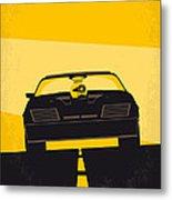 No051 My Mad Max minimal movie poster Metal Print