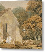 No.0735 A Country Churchyard, C.1797-98 Metal Print