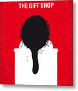 No130 My Exit Through The Gift Shop Minimal Movie Poster Metal Print by Chungkong Art